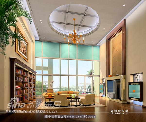 欧式 复式 客厅图片来自用户2772873991在大气豪华的复式楼设计56的分享
