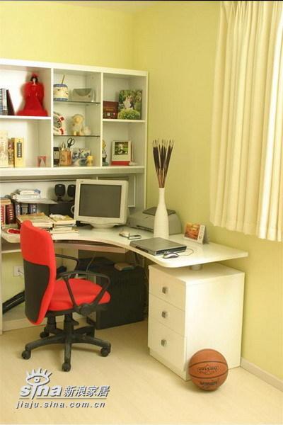 简约 二居 书房图片来自用户2737950087在上上城14的分享