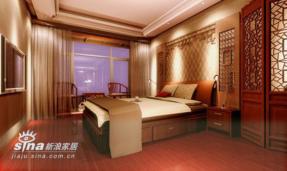 中式 四居 卧室图片来自用户2737751153在260平米中式20的分享