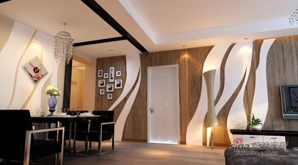 简约 三居 餐厅图片来自用户2738093703在武汉青年打造广电兰亭都荟三居室简约风格56的分享