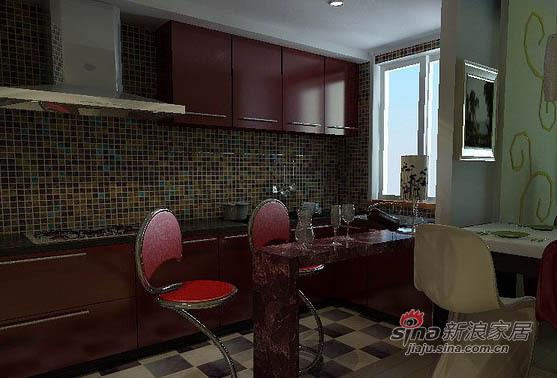 简约 一居 餐厅图片来自用户2737759857在75平老房变身时尚功能两居15的分享