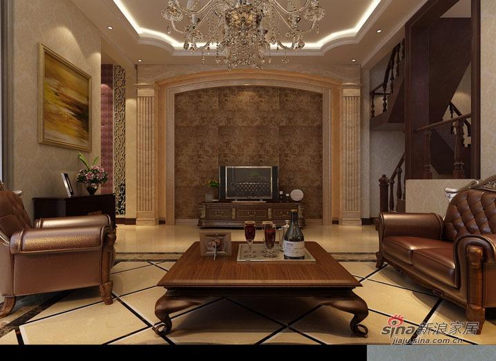 欧式 别墅 客厅图片来自用户2746953981在【精美高清-沈阳实创装饰】31的分享