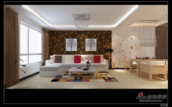 客厅设计方案一