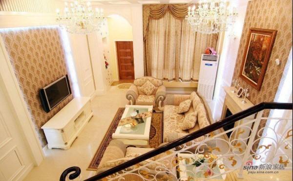 孔雀城200平欧式高贵典雅宫廷风设计