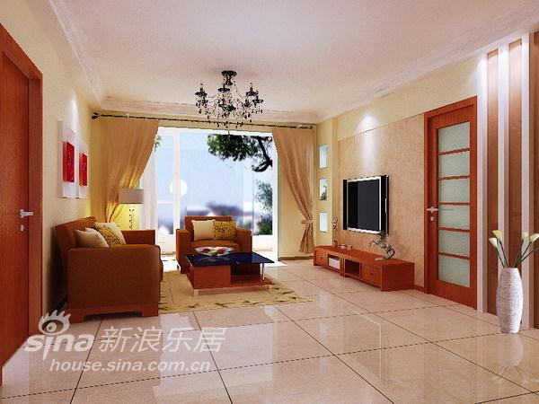 简约 三居 客厅图片来自用户2556216825在简约实用型三居室99的分享