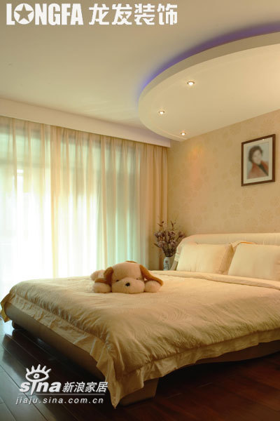 简约 三居 卧室图片来自用户2739378857在艺术空间--实景案例88的分享