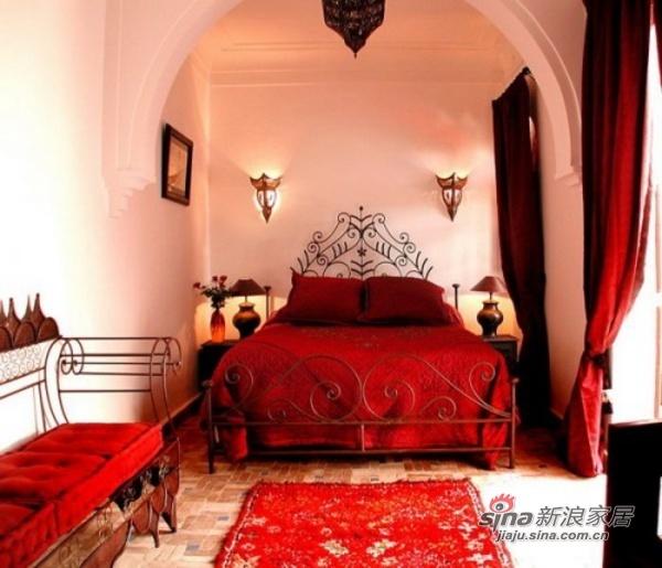 其他 其他 卧室图片来自用户2558757937在摩洛哥风格的卧室装修大赏49的分享