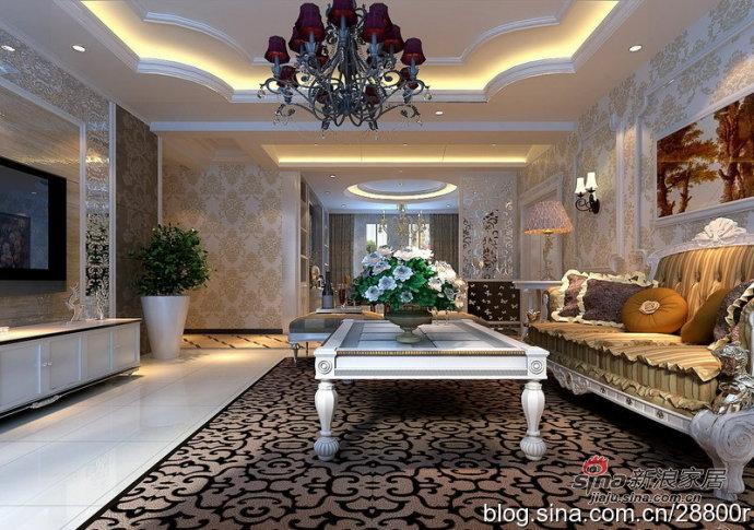 欧式 别墅 卧室图片来自用户2772873991在200平演绎华丽透亮现代欧式20的分享