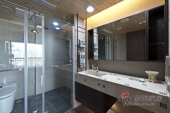 简约 三居 卫生间图片来自用户2556216825在新好男人精心打造105平3房2厅60的分享