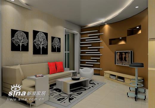 简约 二居 客厅图片来自用户2738093703在怡海花园42的分享