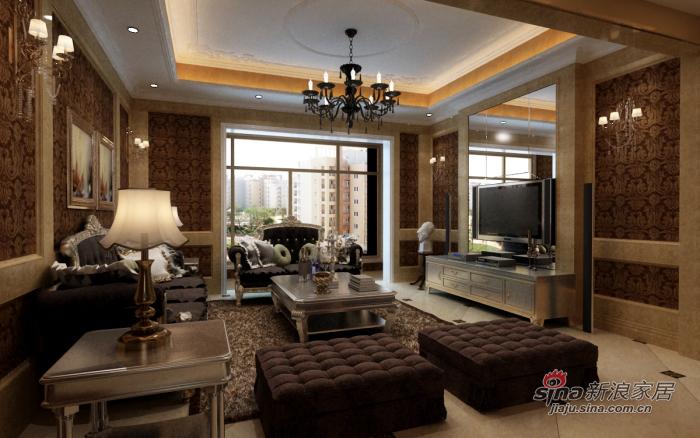 美式 四居 客厅图片来自用户1907686233在我的专辑595884的分享