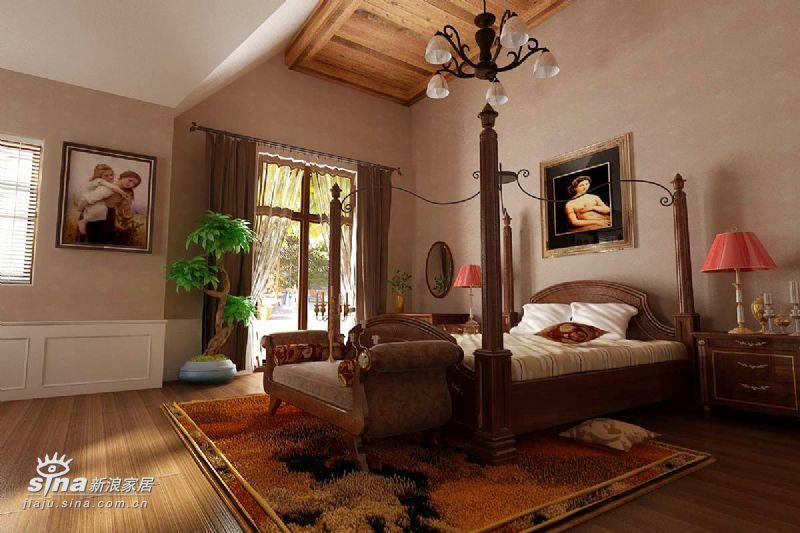 欧式 别墅 卧室图片来自用户2746889121在.49的分享