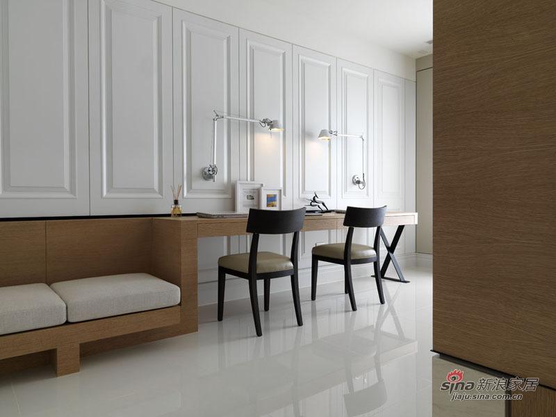简约 别墅 书房图片来自用户2745807237在290平台湾高品质别墅设计164的分享