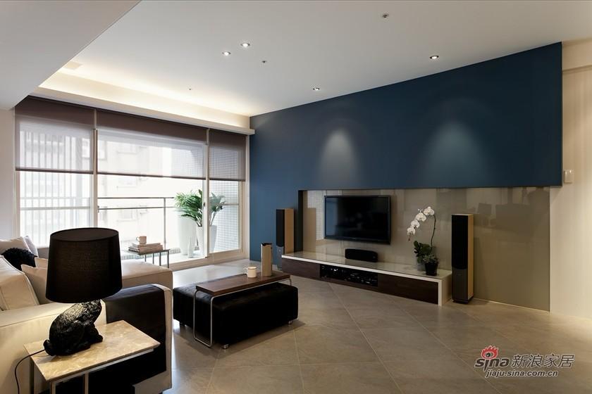 简约 三居 客厅图片来自用户2739378857在6万打造120平简约实用3居15的分享