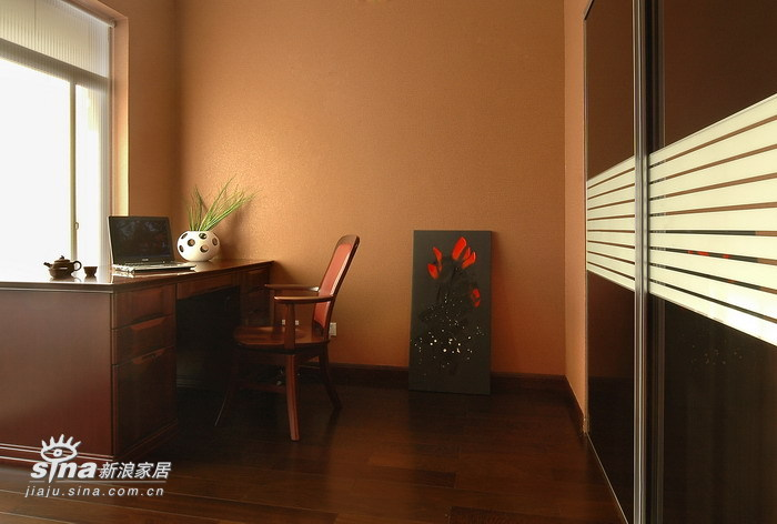 中式 别墅 书房图片来自用户2740483635在现代中式风格作品47的分享