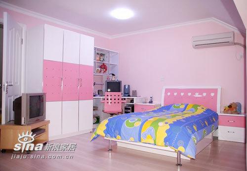 简约 二居 儿童房图片来自用户2738845145在5万元打造的温带馨阁楼小家82的分享