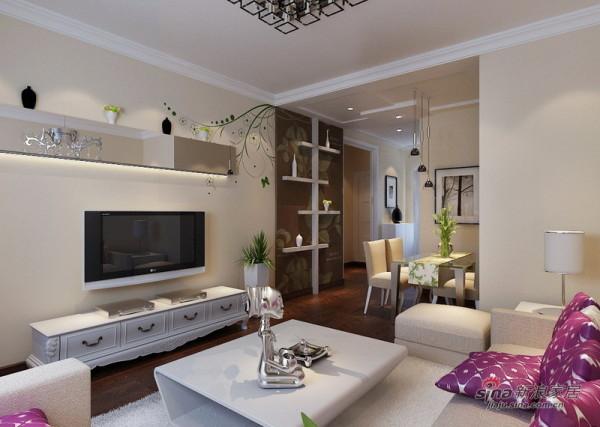 简约 二居 客厅图片来自用户2737786973在5万靓扮理想城80平简约实用2居21的分享