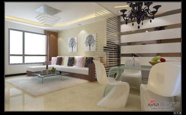 客厅设计方案二