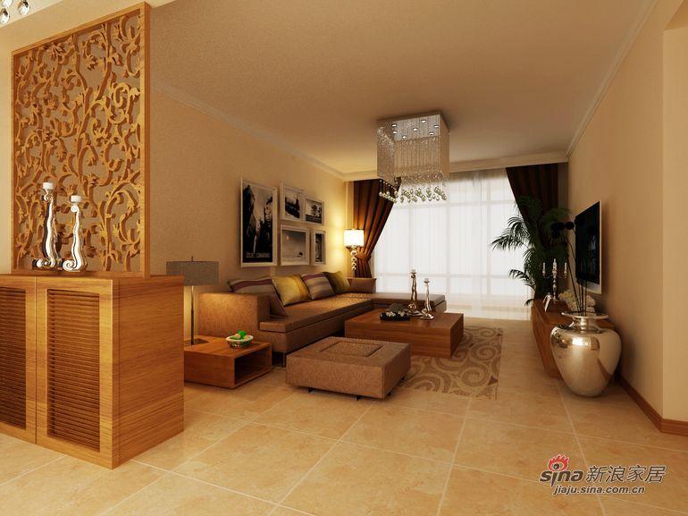 简约 三居 客厅图片来自用户2557010253在简约设计自己来  保利蓝海郡107平三居居室28的分享