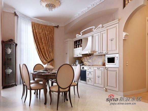 欧式 三居 餐厅图片来自用户2746948411在女性浪漫欧式情怀别致公寓86的分享