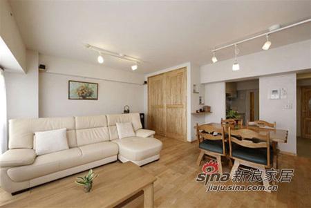 简约 三居 客厅图片来自用户2745807237在78平日式清新简约家 单身白领的精致小家54的分享