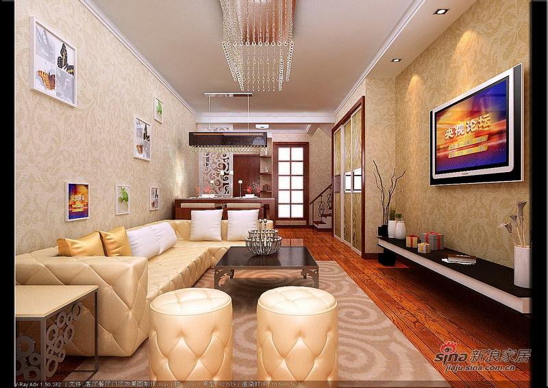 欧式 三居 客厅图片来自用户2746889121在120平loft自然纯朴简欧28的分享