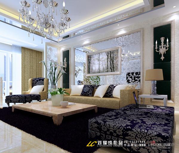 简约欧式客厅设计