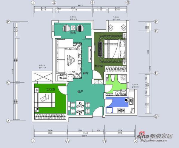 简约 二居 其他图片来自用户2737950087在设计师打造金地叁拾峯 都市影像两居室44的分享