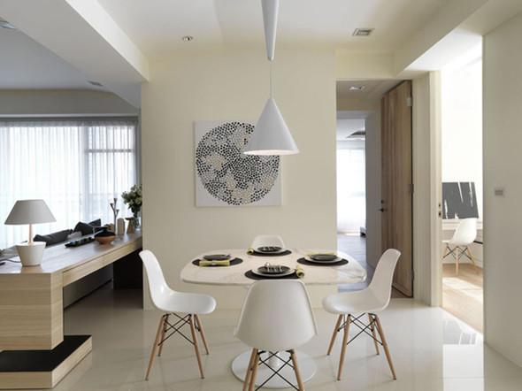 简约 二居 餐厅图片来自用户2557979841在6.5万完美呈现简约风格爱家86的分享