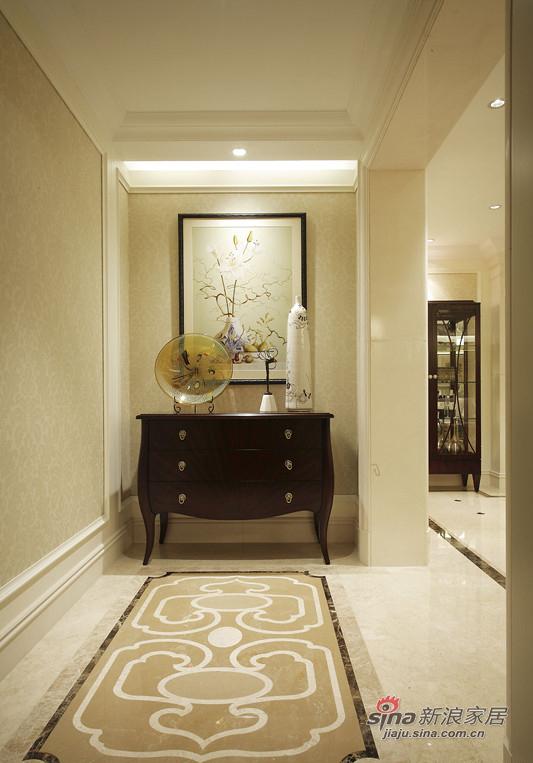 美式 三居 玄关图片来自佰辰生活装饰在9万打造120平时尚美式三口之家81的分享