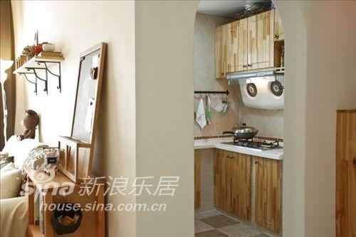 简约 二居 厨房图片来自用户2738845145在4万打造88平米婚房65的分享