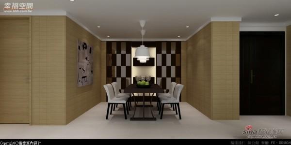 -对称的门片及柜体树立大器宅邸风范
