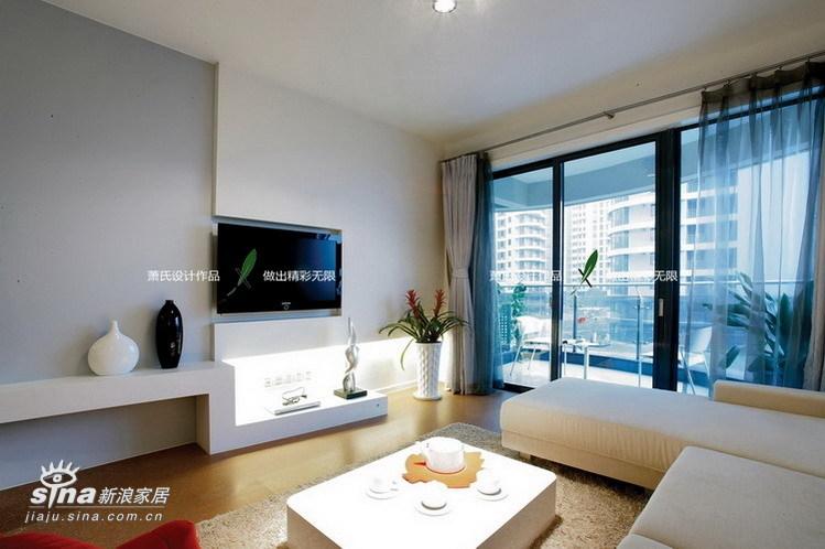 简约 二居 客厅图片来自用户2739081033在简洁不简单的时尚诠释12的分享