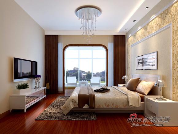 简约 三居 卧室图片来自用户2737782783在7万打造130平米3居室清新简洁32的分享