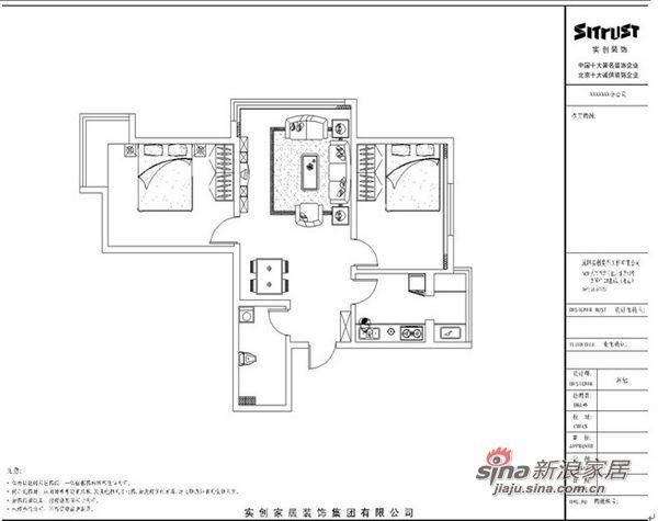 简约 二居 客厅图片来自用户2738820801在5.2万打造98平黑白元素家52的分享