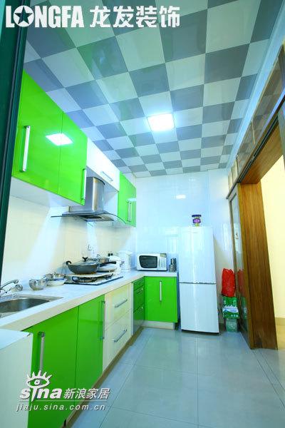 简约 一居 厨房图片来自用户2745807237在锦绣江南--实景案例12的分享