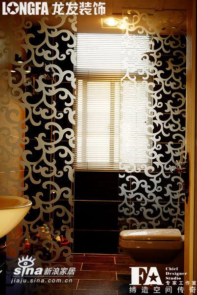 欧式 二居 卫生间图片来自用户2757317061在简约欧式之二室两厅样板间43的分享