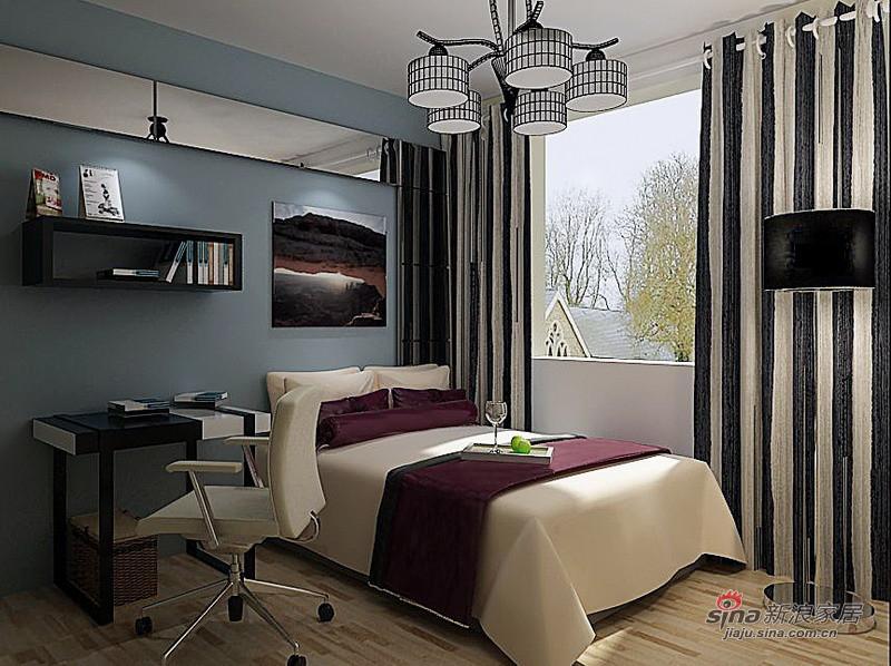 简约 二居 卧室图片来自用户2745807237在我的专辑992576的分享