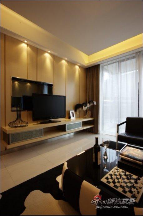简约 三居 客厅图片来自用户2737786973在12万大包150平低调品质3居49的分享