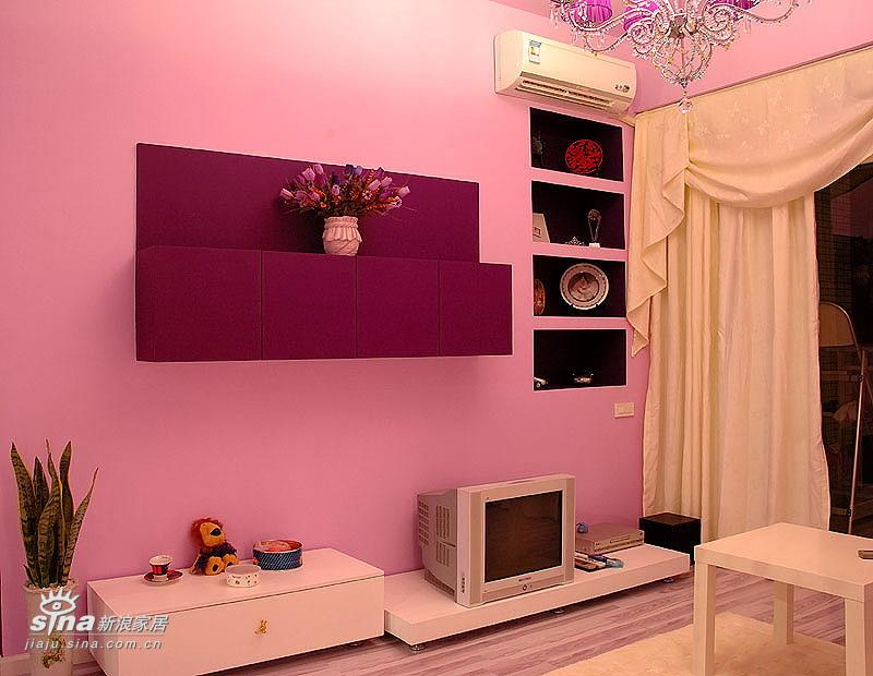 欧式 二居 客厅图片来自用户2757317061在温馨、浪漫、略带点华丽的婚房设计66的分享
