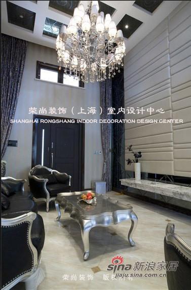 欧式 别墅 客厅图片来自用户2746948411在一百万全包简欧风豪华别墅21的分享
