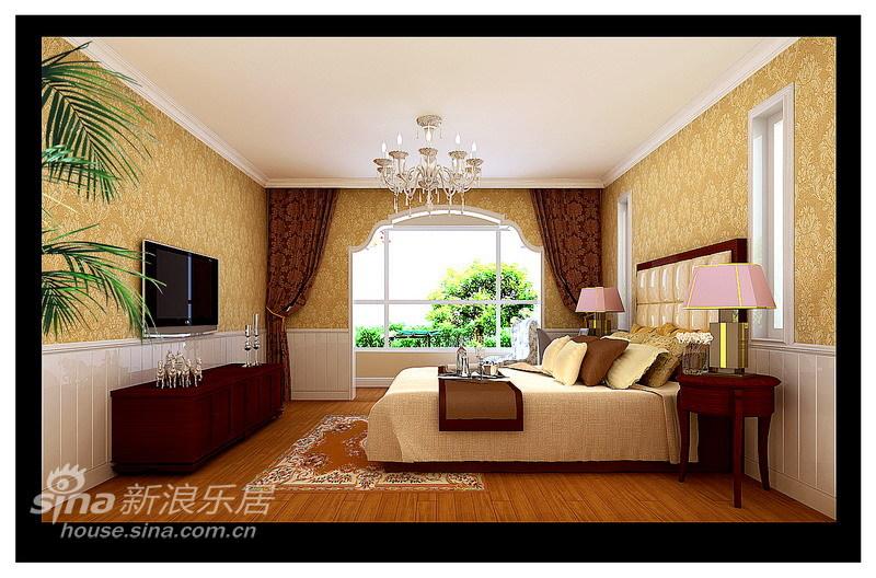 欧式 三居 卧室图片来自用户2746948411在欧式乡村风格16的分享