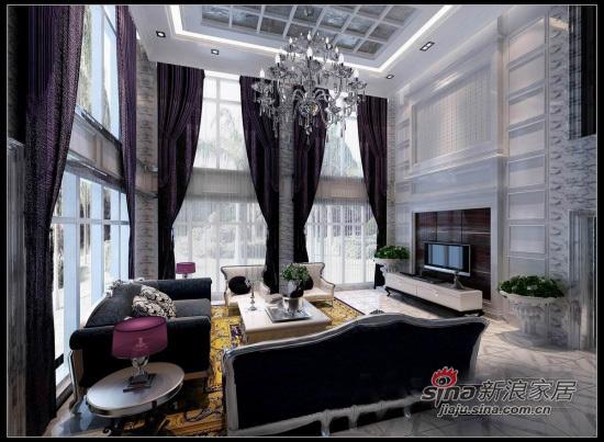 港式 别墅 客厅图片来自用户1907650565在93平港式爱情婚房别墅97的分享