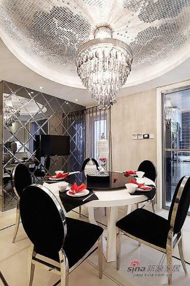 简约 复式 餐厅图片来自用户2738813661在一套200平方简约低调奢华混搭四居室复式55的分享