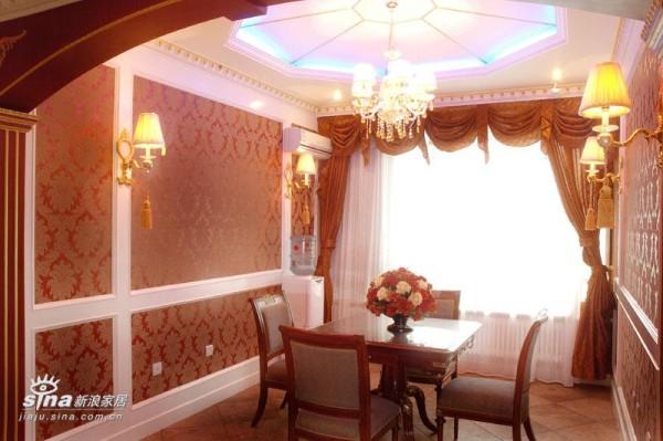欧式 四居 餐厅图片来自用户2746889121在新古典73的分享