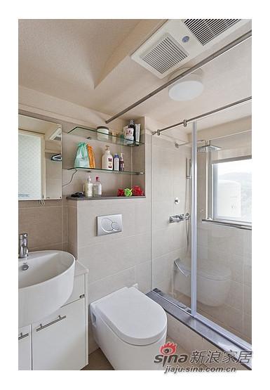 卫浴和室旁的浴室採以乾溼分离设计