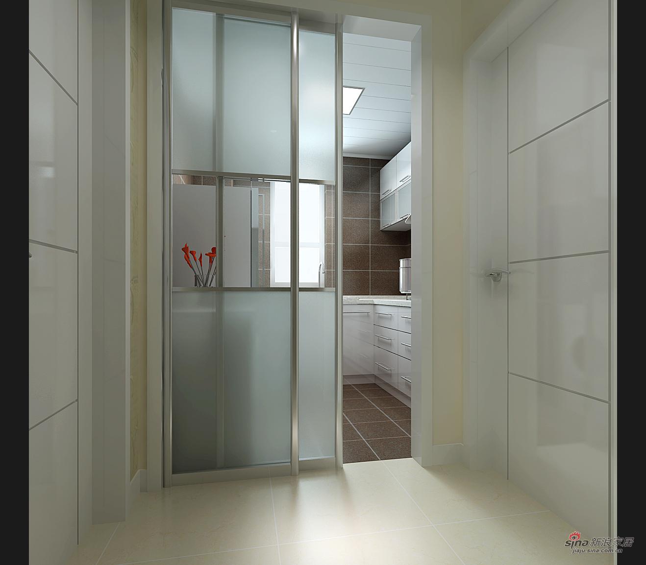 简约 二居 厨房图片来自用户2738813661在华城泊郡现代简约两居68的分享