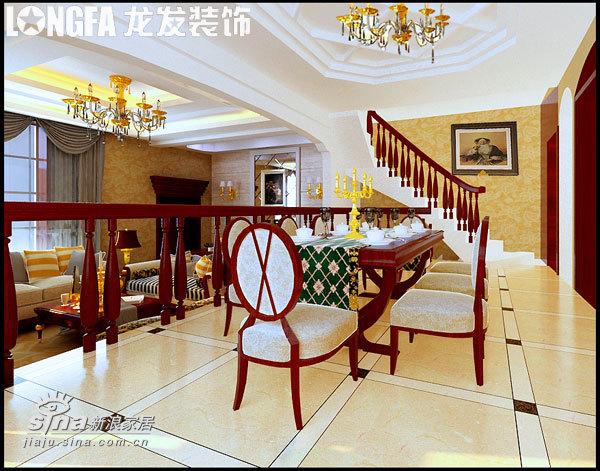 欧式 别墅 餐厅图片来自用户2745758987在高调却不张扬,华丽而不累赘73的分享