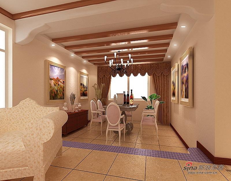 欧式 别墅 餐厅图片来自用户2745758987在怀柔220平现代欧式别墅设计10的分享