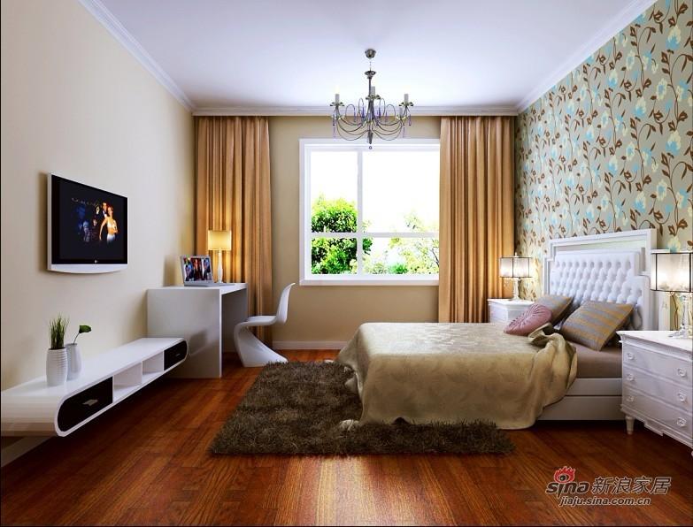 简约 二居 卧室图片来自用户2745807237在80平米井然有序的空间83的分享